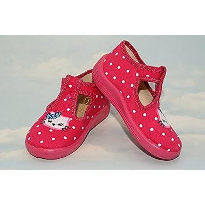 abdream , Chaussures souple pour bébé (garçon) Pink Kitten 7