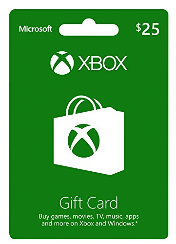 Xbox $25 Gift Card by Microsoft