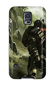 YubOWJS1888AnNCn Snap On Case Cover Skin For Galaxy S5(games )