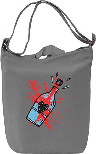 Full Of Love Borsa Giornaliera Canvas Canvas Day Bag| 100% Premium Cotton Canvas| DTG Printing|