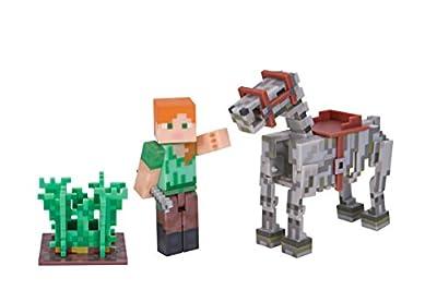 Minecraft Alex with Skeleton Horse Pack from Minecraft