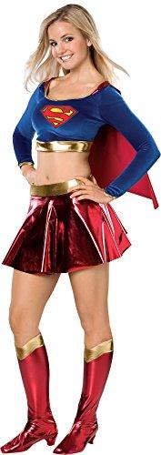 UHC Supergirl Dc Comics Superhero Superman Fancy Dress Teen Halloween Costume, Teen (2-6) for $<!--$57.95-->