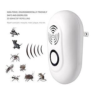 pest control ultrasonic repeller Multifunctional Pest reject and control,Ultra pest repeller and reject and,High Frequency Pest reject Rat Repeller 2PCS