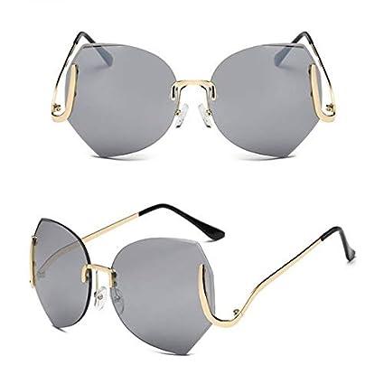 Amazon.com: Kasuki 2017 Elegante Gafas de sol sin borde de ...