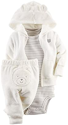 Carter's Baby Boys' 3 Piece Terry Cardigan Set (Baby) by Carters that we recomend individually.