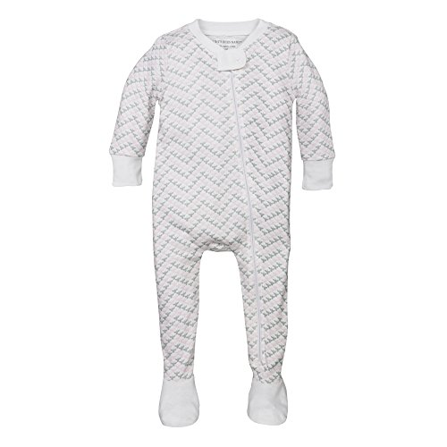 Burts-Bees-Baby-Baby-Girls-Organic-Chevron-Bee-Sleeper