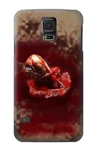 S0133 Alien Stomach Scene Case Cover for Samsung Galaxy S5