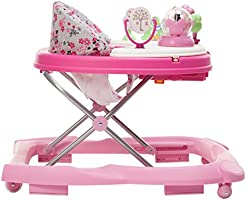 Garden Delight Disney Baby Minnie Mouse Music and Lights Baby Walker with Activity Tray