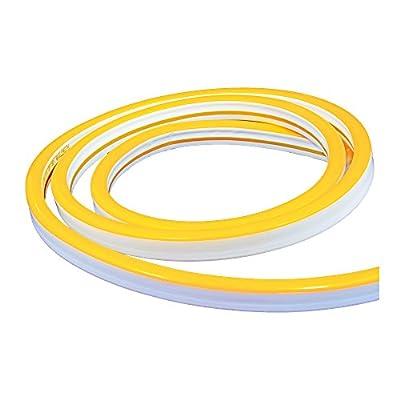 American Lighting MINI-P2-NF-AY Polar 2 Mini Neon Flex Linear LED Reel, 150-feet, Amber