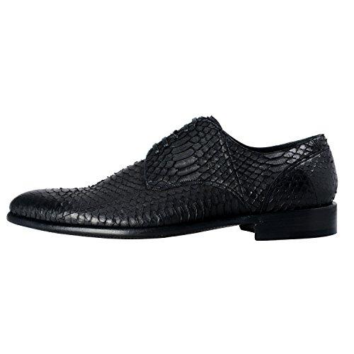 Dolce & Gabbana Heren Python Skin & Leather Oxfords Shoes Us 7 It 6 Eu 40
