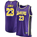 Fast Break Lebron Lakers Replica Jersey Purple - Statement Edition