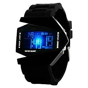 Swadesi Stuff Digital Black Dial Boy's Watch- 5696