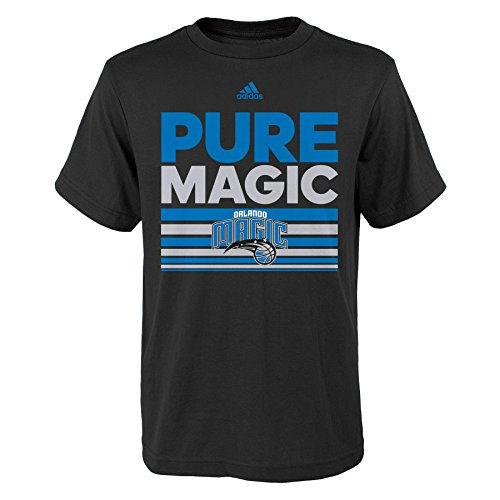 fan products of NBA Orlando Magic Boys Youth Born One Short Sleeve Tee, Small (8), Black