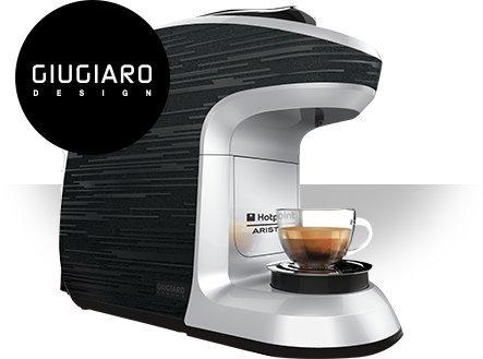 2 opinioni per HOTPOINT CMMSQBW0 Uno Small Macchina da Caffè per Coffe capsule- Colore Bianco
