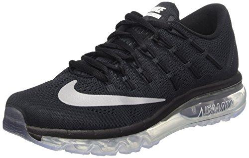 Nike para White Running Zapatillas de 2016 Wmns Gris Mujer Oscuro Max Blanco 10 Air EU Black rxRqwHr0T