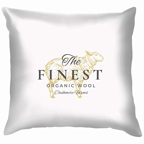 Finest Wool Sign Symbol Food and Drink Graphic