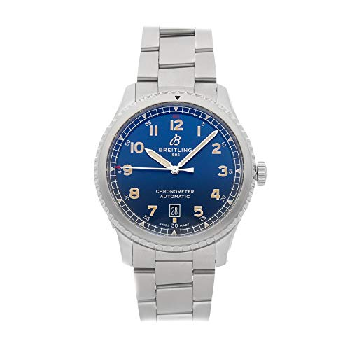 Breitling Navitimer Mechanical (Automatic) Blue Dial Mens Watch A17315101/C1A1 (Certified Pre-Owned)