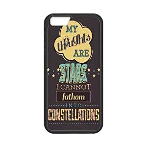 Generic Quotes from The Fault in Our Stars Hardshell Cell Phone Cover Case for iPhone 6 (4.7)