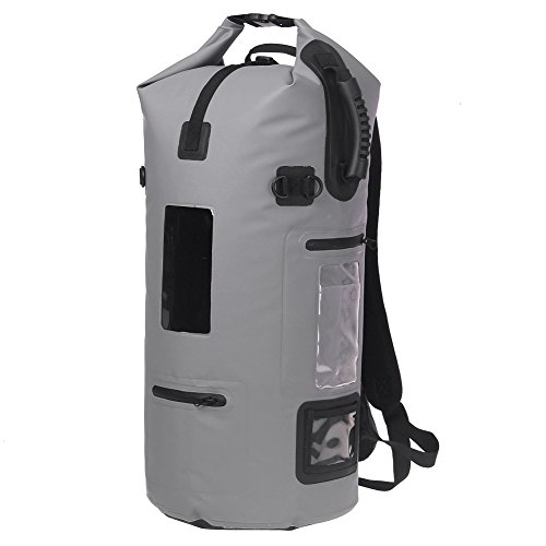 ESONE Roll Top Waterproof Backpack Dry Bag for Boating Kayaking Fishing Rafting Swimming Camping 40L by ESONE