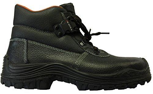 COFRA Bolzano Chaussures de sécurité de travail S3 SRC NEUF gr.36-48 - noir, Noir, 45.0