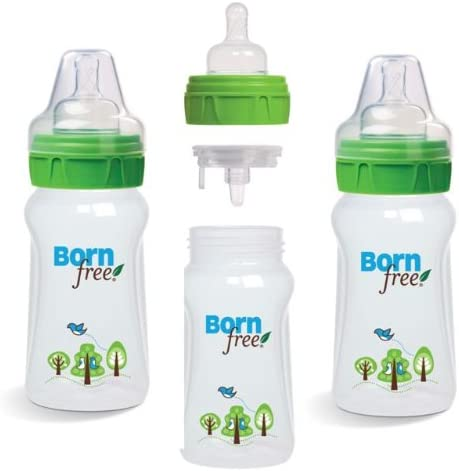 Born Free Biberón Deco 150 ml 0-3 meses - Pack de 3: Amazon.es: Bebé