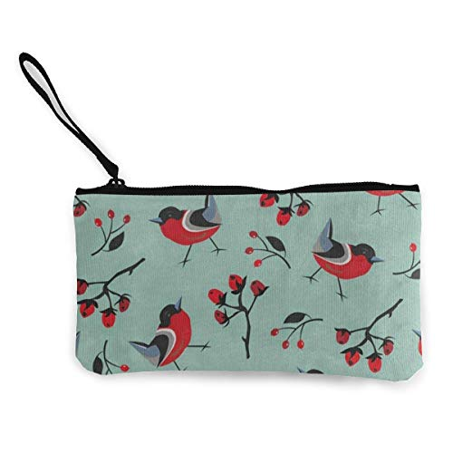 Canvas Coin Purse Funny Red...