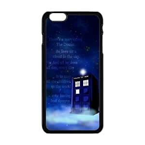 """Danny Store Hardshell Cell Phone Cover Case for New iPhone 6 Plus (5.5""""), Quotes Police Box"""