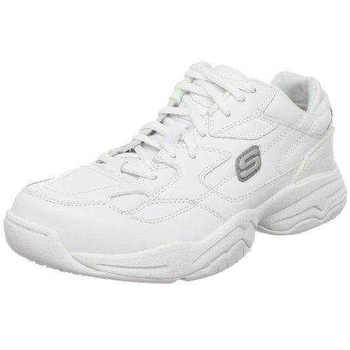 Skechers for Work Women's Felix-Marathon Sneaker,White,6 M US - Skechers Extra Wide Womens Shoes