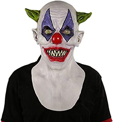 LLWGNZM Mascara-Risitas Máscara de látex de Payaso Espeluznante ...