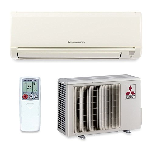 Mitsubishi MZ-GL18NA - 18,000 BTU 20.5 SEER Wall Mount Ductless Mini Split Air Conditioner Heat Pump 208-230V (Mitsubishi Ductless Ac Units compare prices)