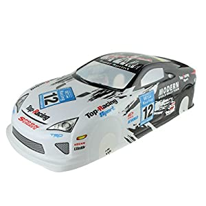 Coolplay 1/10 PVC On Road Drift Car Body Shell RC Racing Accessories Lexus LF-A