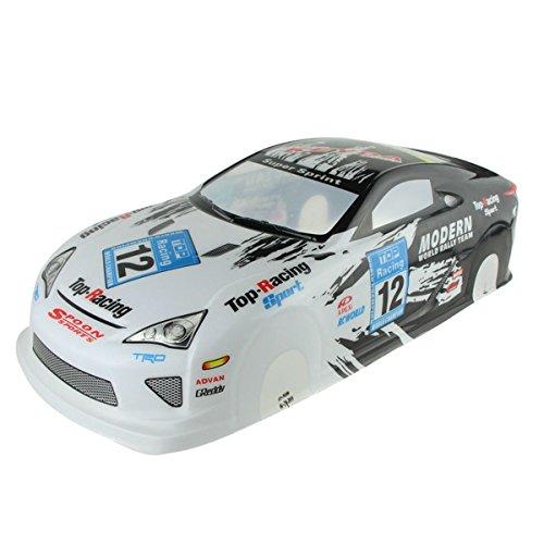 Coolplay 1/10 PVC On Road Drift Car Body Shell RC Racing Accessories Lexus LF-A