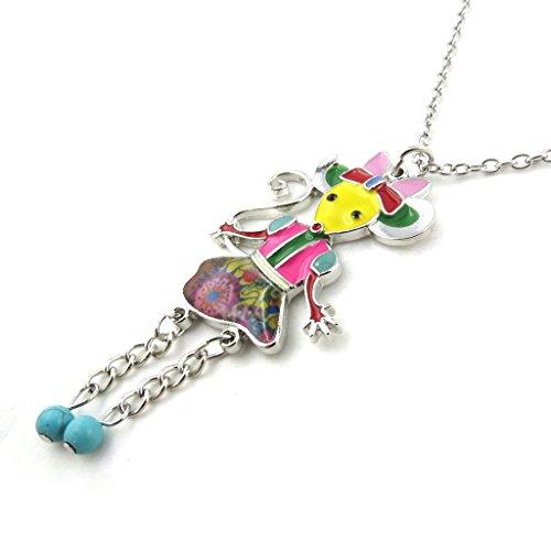 Boheme Jewels (Double-length necklace 'french touch' 'Souris Boheme' tutti frutti.)