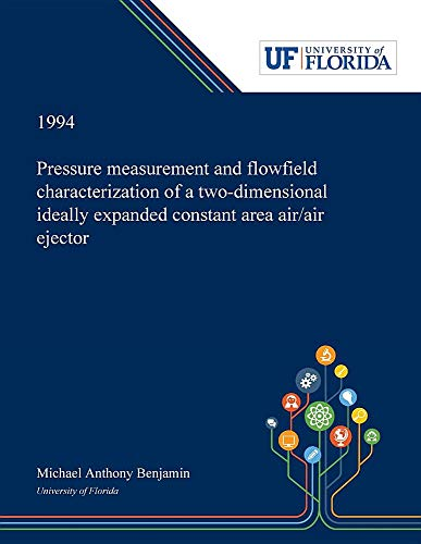 Pressure Measurement and Flowfield Characterization of a Two-dimensional Ideally Expanded Constant Area Air/air Ejector