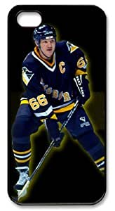 icasepersonalized Personalized Protective Case for iPhone 5 - NHL Pittsburgh Penguins #66 Mario Lemieux