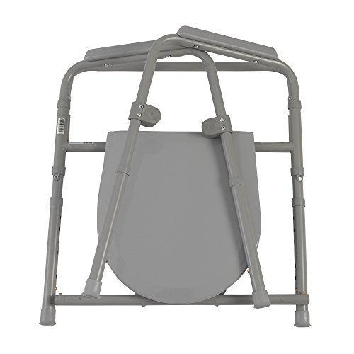 Drive-Medical-Steel-Folding-Bedside-Commode