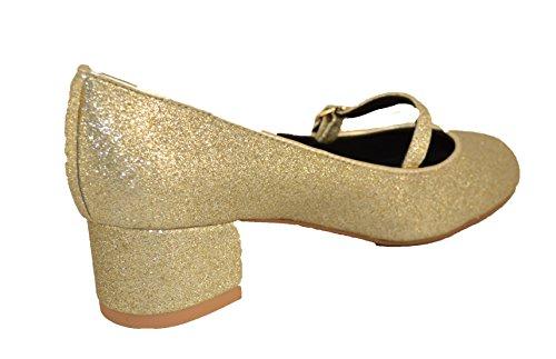 Vestir Cambell de Zapatos Dorado Dorado Mujer Jeffrey Para P6wxq