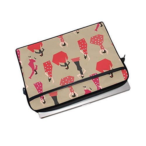 Sleeve Carrying for Bag Commuter Bag Shoulder DragonSwordlinsu 14 Slim 6 Simplicity to Bag Handle Pattern Bag inch Messenger inch Gipsy Briefcase 15 Laptop Laptop Notebook Case COOSUN Business qHawZ