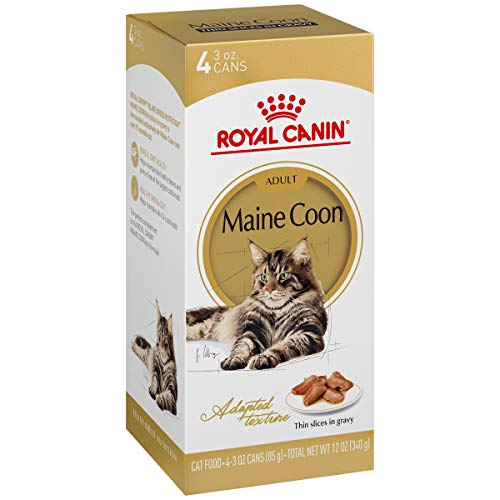 Royal Canin Adult Maine Coon Thin Slices in Gravy Canned Cat Food (4x3 ()