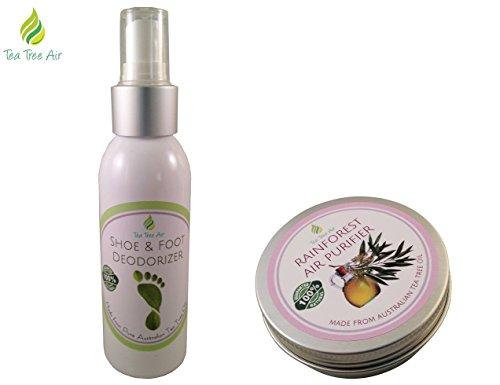 Bundle Shoe & Foot Deodorizer Spray (4.4oz) + Rainforest Air Purifier (2.2oz) ✔✔