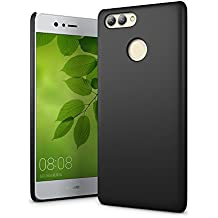 SLEO Huawei nova 2 Plus Case - Rubberized Hard PC Back Case Cover for Huawei nova 2 Plus Phone - Black