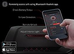 VAULTEK VT20 Handgun Safe Bluetooth Smart Pistol Safe with Auto-Open Lid and Rechargeable Battery