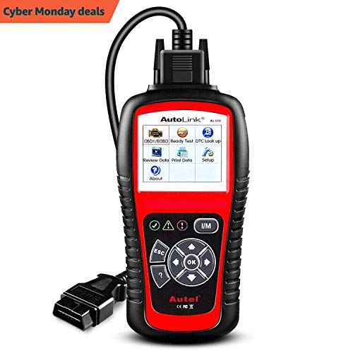 Autel AL519 AutoLink OBD2 Scanner, Code Reader Car Diagnostic Tool with Mode 6 Vehicle Scan Tool AL519-4-20