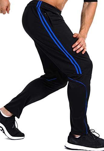 FITTOO Pantalones Deportivos para Hombre Mallas de Fitness Elásticos y Transpirables 4