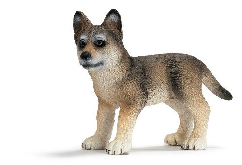 Schleich Wolf Cub Toy Figure