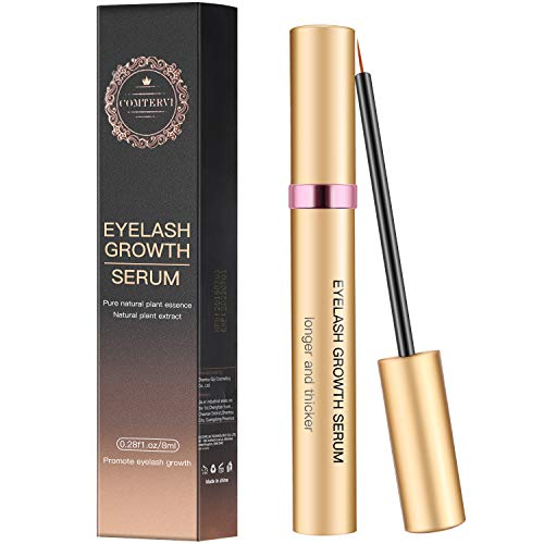 MayBeau Eyelash Growth Serum 8ML,Natural Brow Lash Enhancer,Nourish Damaged Lashes and Boost Rapid Growth for Any Kind of Lash and Brow