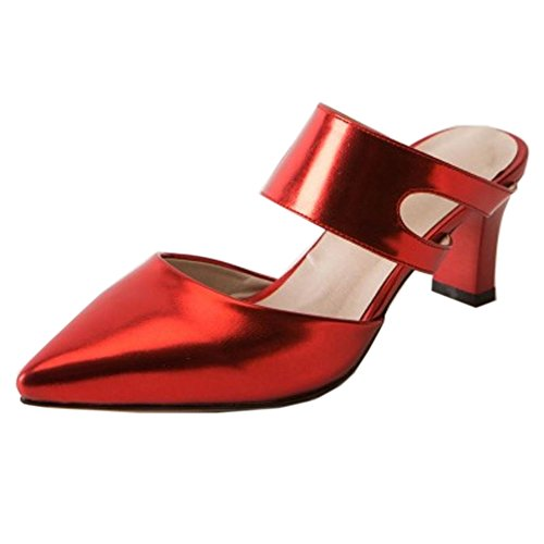 huge selection of e6c23 986fb Zanpa Women Fashion Mules Heels Slip On On On Sandals Parent B07D351XNP  e3090b