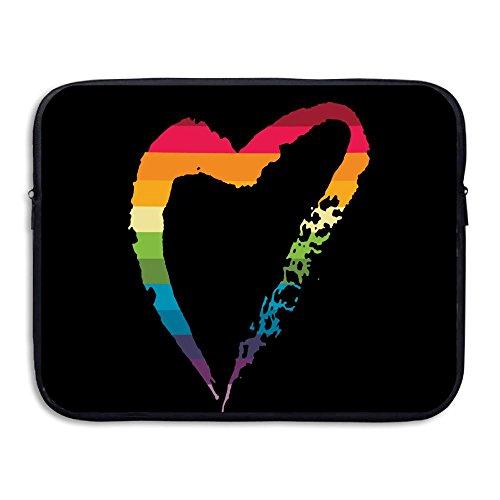 Joe Dirt Costume Amazon (BANA Custom Love Heart Gay Shock-Resistant Tablet Protector Bag Case 13 Inch)