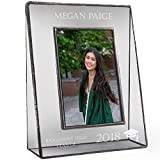 J Devlin PIc 319-46V EP500 Personalized Graduation Picture Frame High School or College Graduate Gift Class of 2018 Tabletop 4 x 6 Vertical Photo Engraved