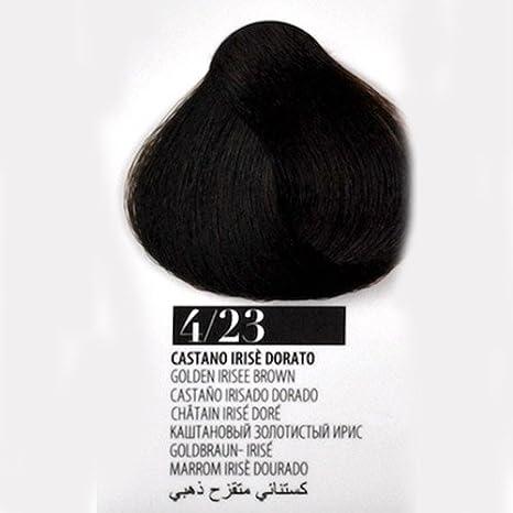 Tinte Pelo 4/23 Castaño irisé dorado farmagan Hair Color Tubo ...